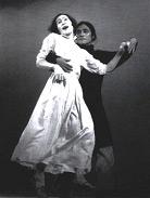 Tatsumi Hijikata und Kazuo Ohno